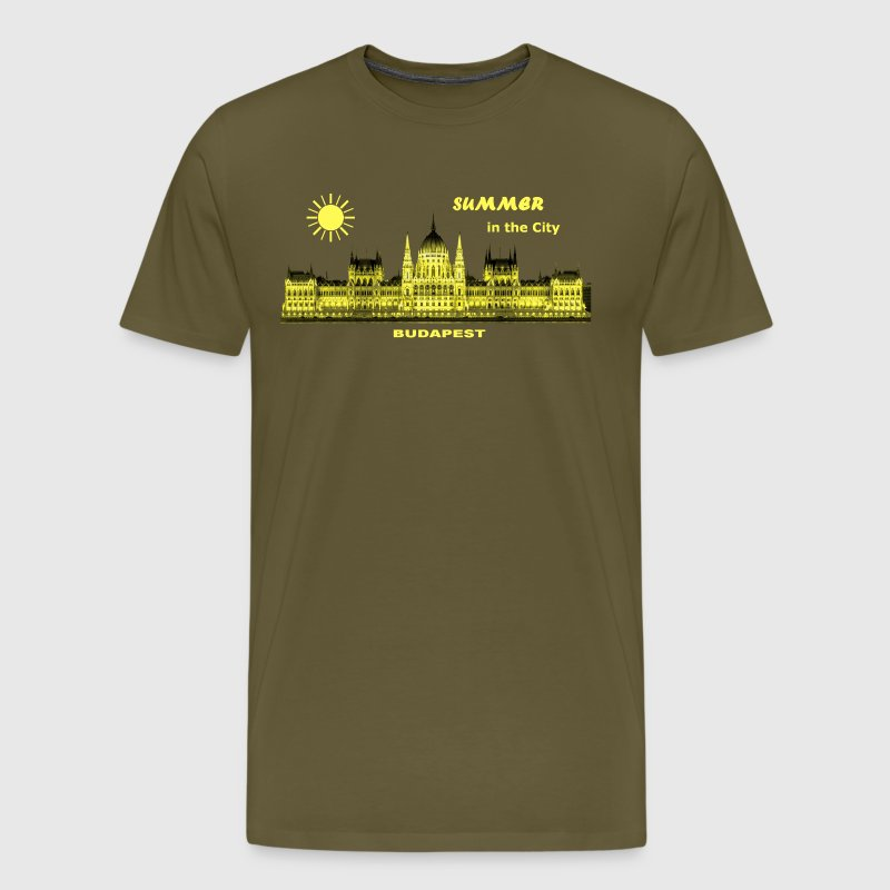 Summer in the City Budapest Ungarn T-Shirts - Männer Premium T-Shirt