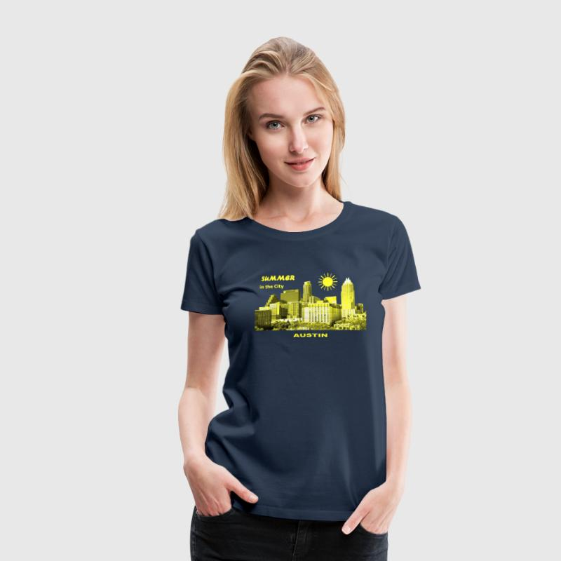 Summer in the City Austin Texas USA T-Shirts - Frauen Premium T-Shirt