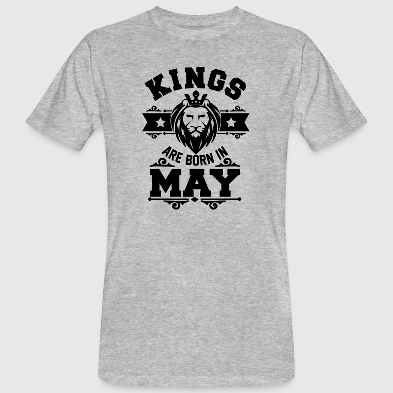 Kings are born in May Tee shirts - T-shirt bio Homme