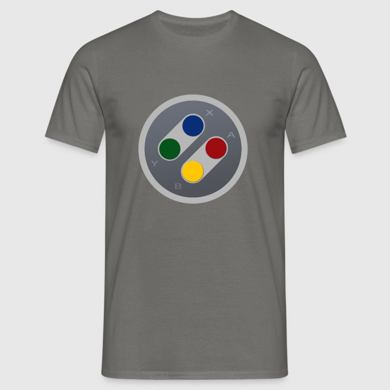 SNES Gamepad Joypad Buttons - Männer T-Shirt