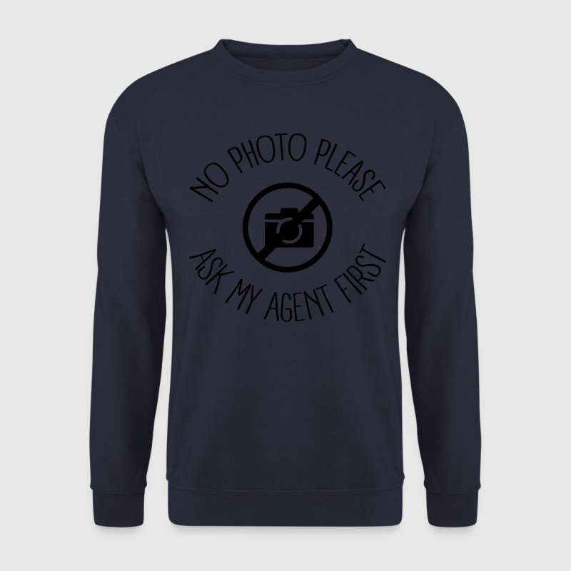 No Photo Please Sweat-shirts - Sweat-shirt Homme