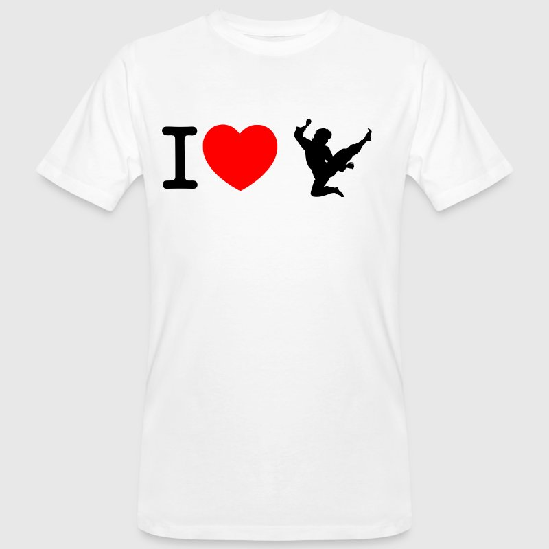 I love Sean T-Shirts - Men's Organic T-shirt