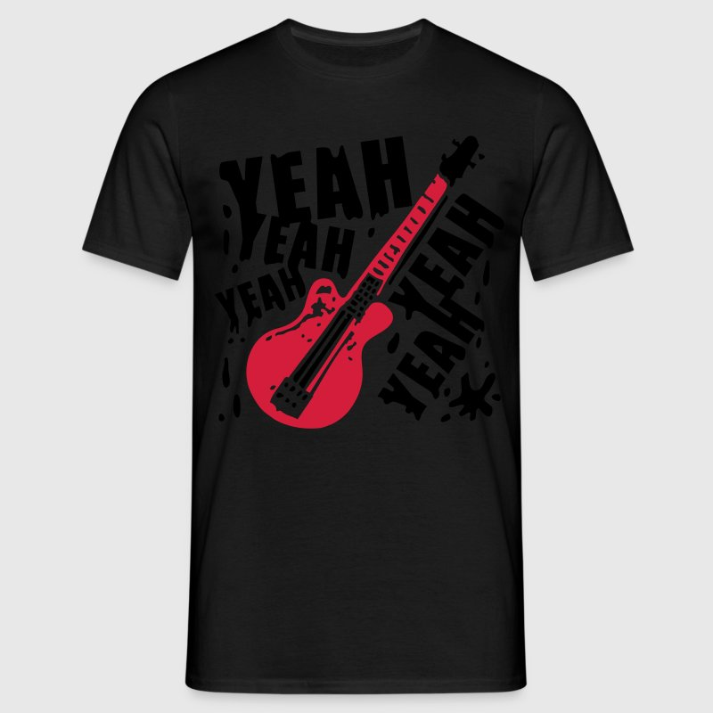 Black Rock Yeah yeah bass T-Shirts - Men's T-Shirt