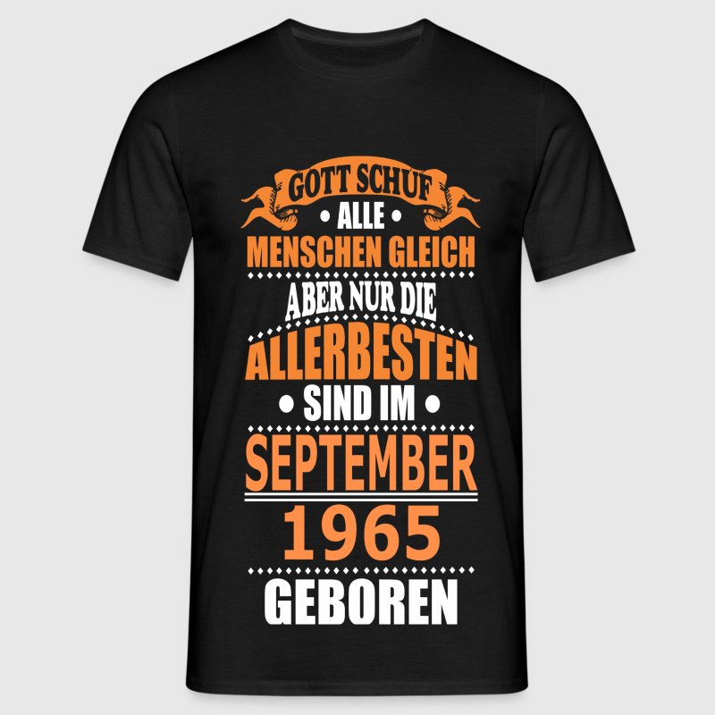 SEPTEMBER 1965 T-Shirts - Männer T-Shirt
