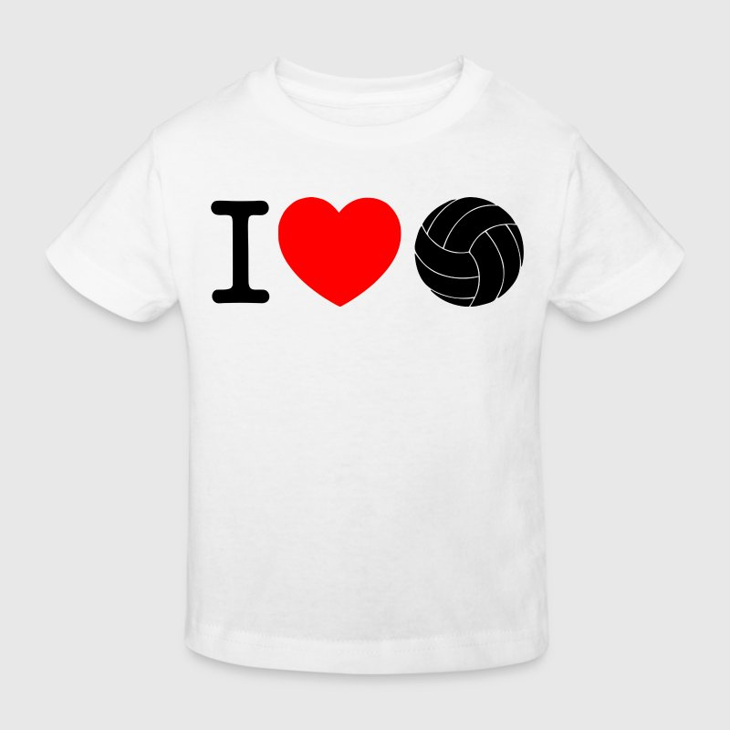 J'adore le VOLLEYBALL Tee shirts - T-shirt Bio Enfant