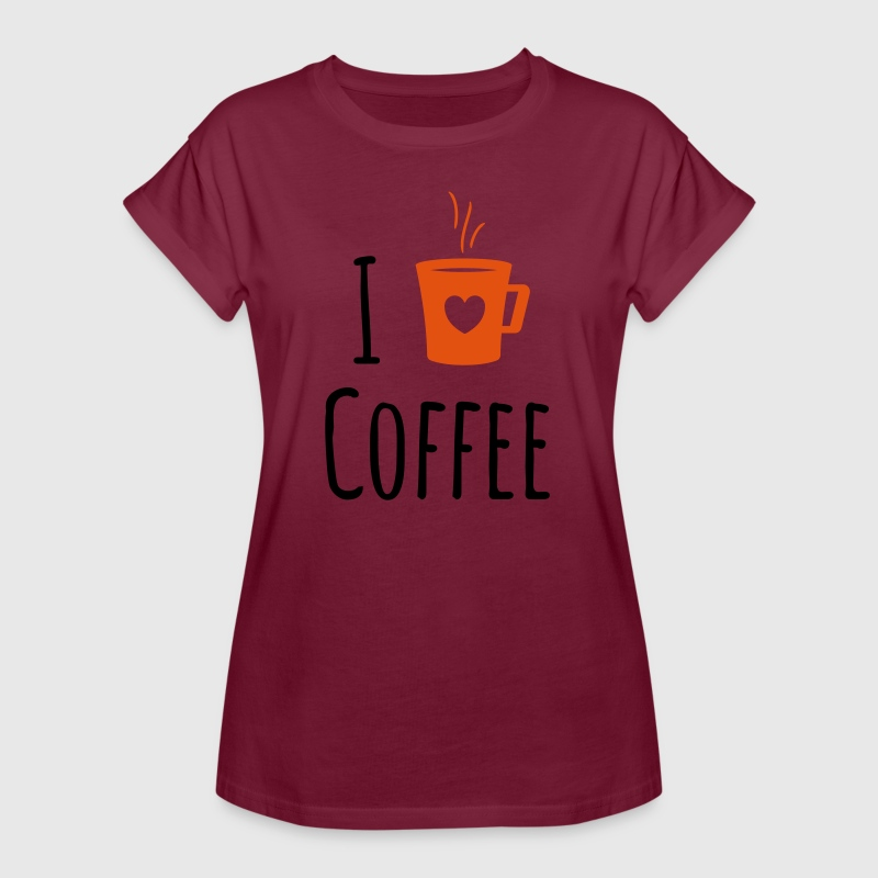 Coffee Lover T-Shirts - Women's Oversize T-Shirt