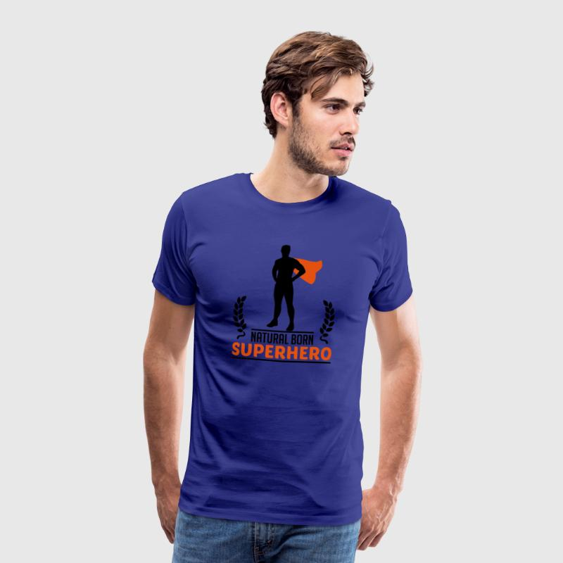 Natural Born Superhero T-Shirts - Men's Premium T-Shirt