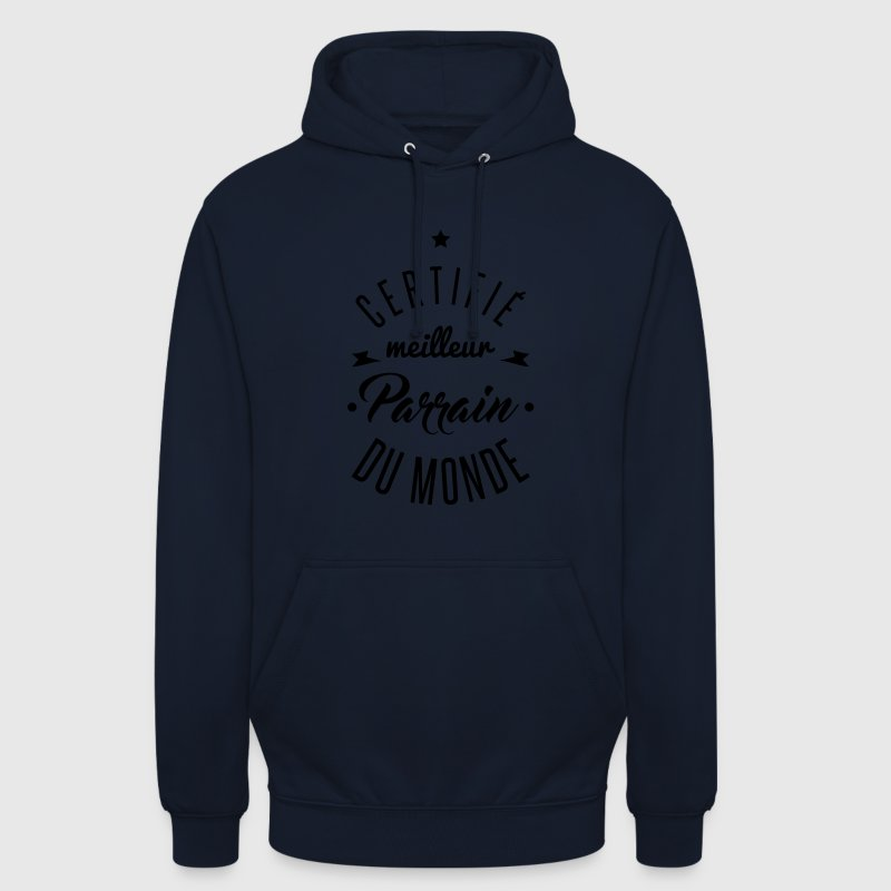 meilleur parrain Sweat-shirts - Sweat-shirt à capuche unisexe