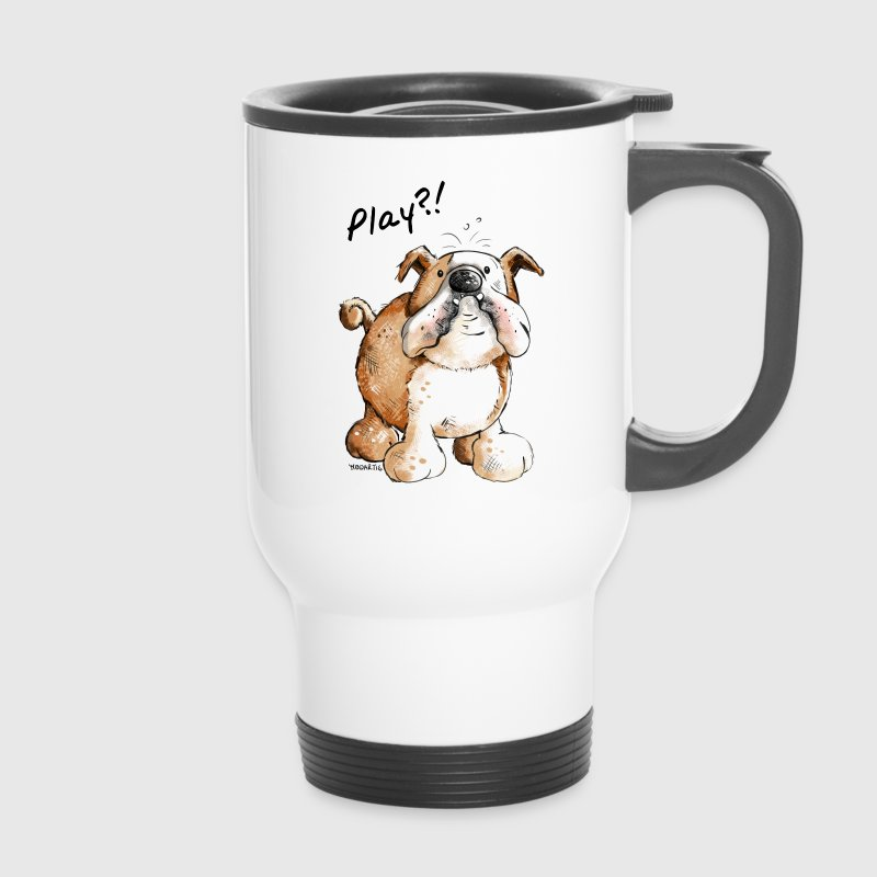 Tassen Hund : Englische bulldogge play hund hunde doggy