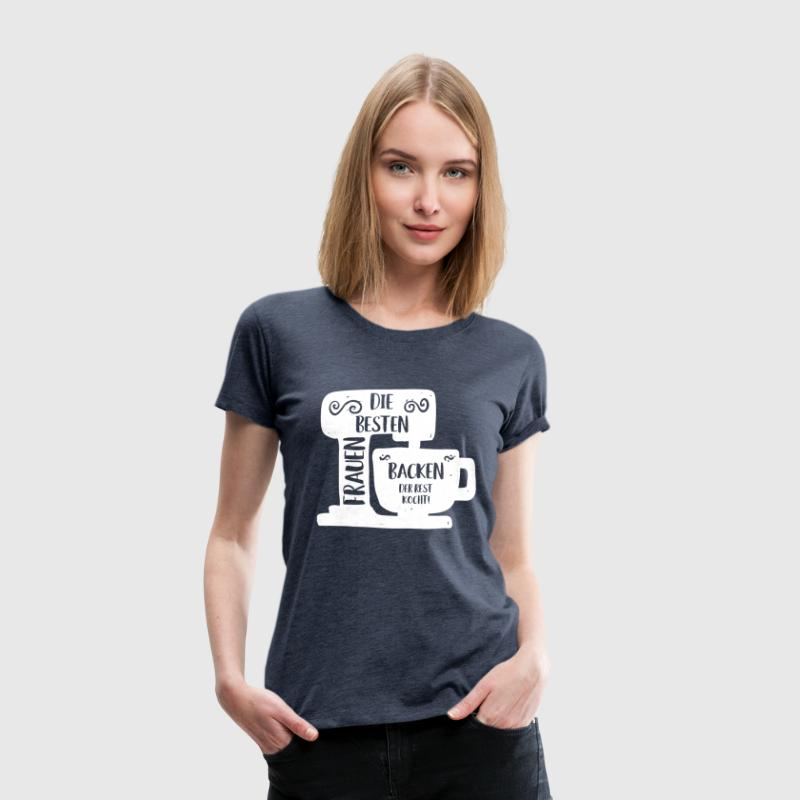FRAUEN BACKEN T-Shirts - Frauen Premium T-Shirt
