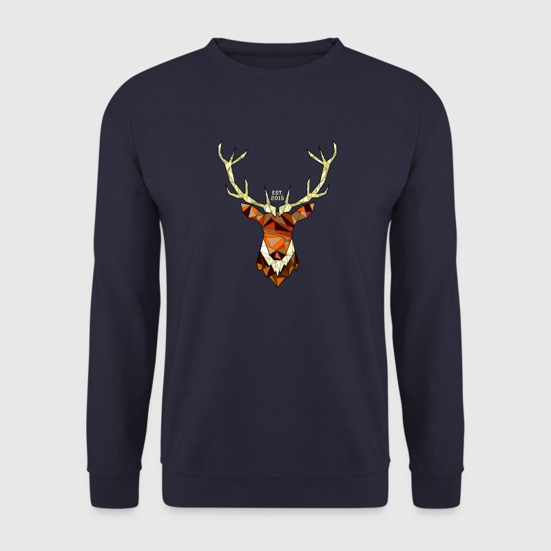 Cerf Hipster Sweat-shirts - Sweat-shirt Homme