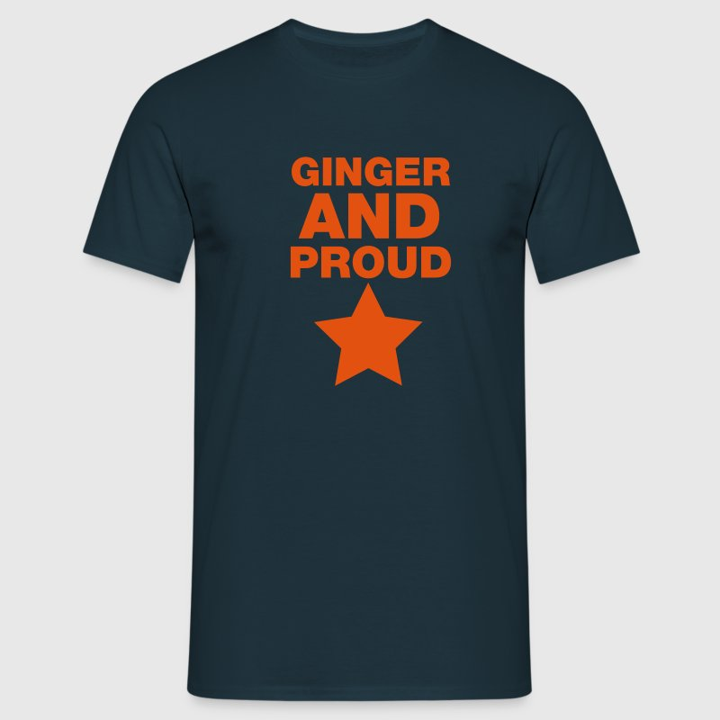 Ginger And Proud Star T-Shirts - Men's T-Shirt