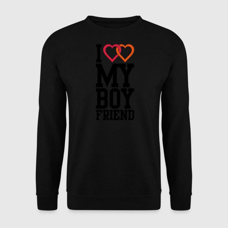 I love my Boyfriend Sweatshirt | Spreadshirt