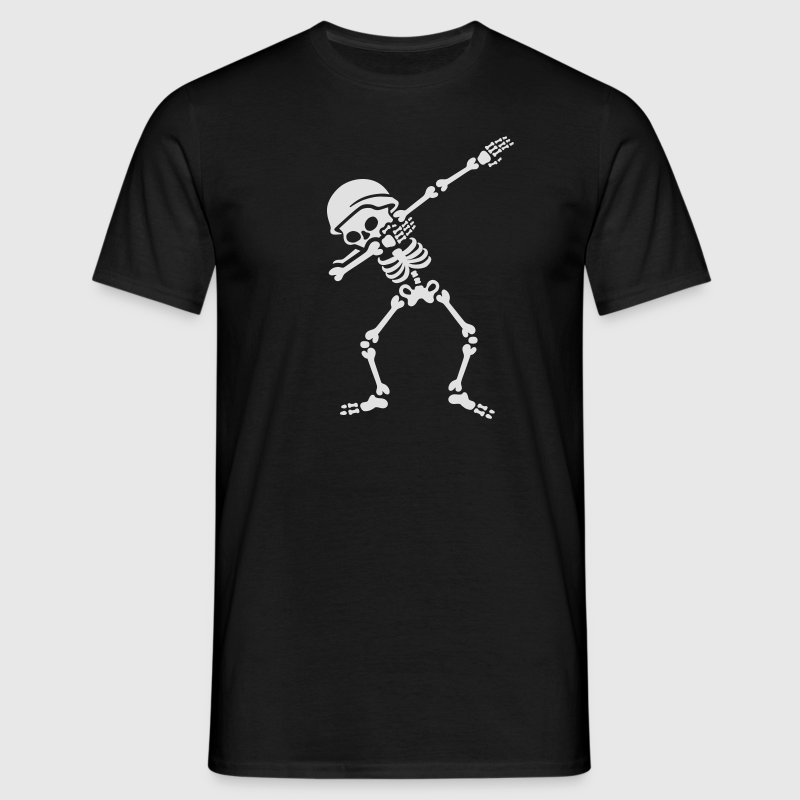 Soldier biker skeleton Dab / Dabbing T-Shirts - Men's T-Shirt
