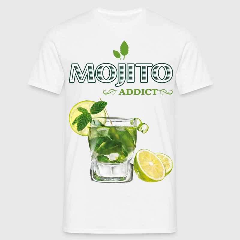 mojito addict.png Tee shirts - T-shirt Homme