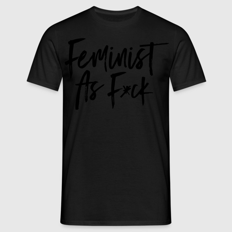 Feminist As F*ck T-skjorter - T-skjorte for menn