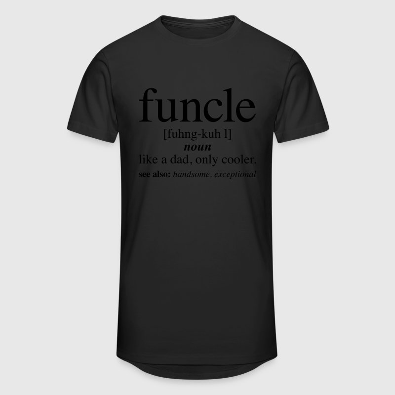 Funcle - Definition | Fun Uncle T-Shirts - Männer Urban Longshirt