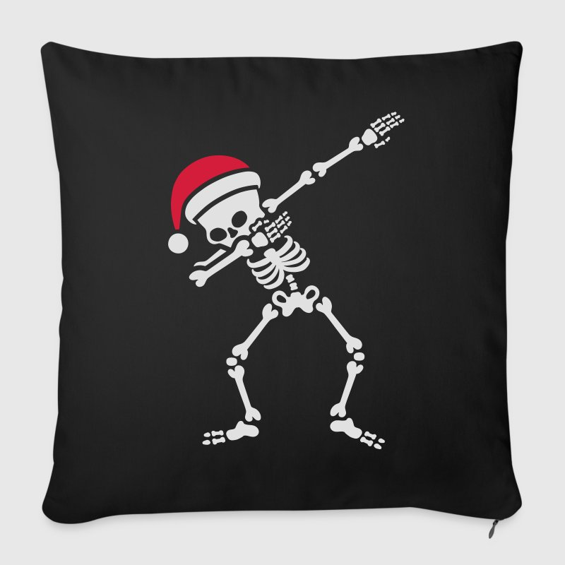 Santa dab / dabbing skeleton Other - Sofa pillow cover 44 x 44 cm