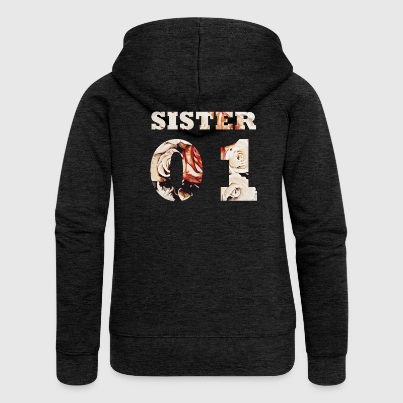 sister 01 kapuzenjacke spreadshirt. Black Bedroom Furniture Sets. Home Design Ideas