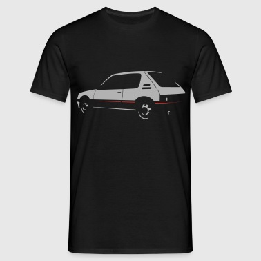 205 GTi +red Pullover & Hoodies - Männer T-Shirt