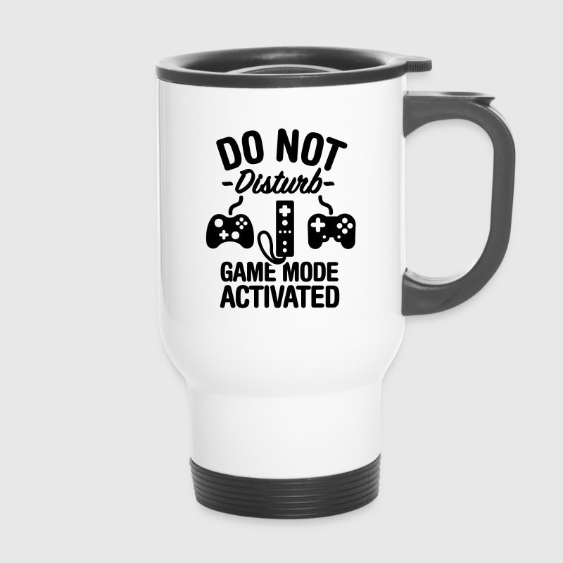 Do not disturb game mode activated Mugs & Drinkware - Travel Mug