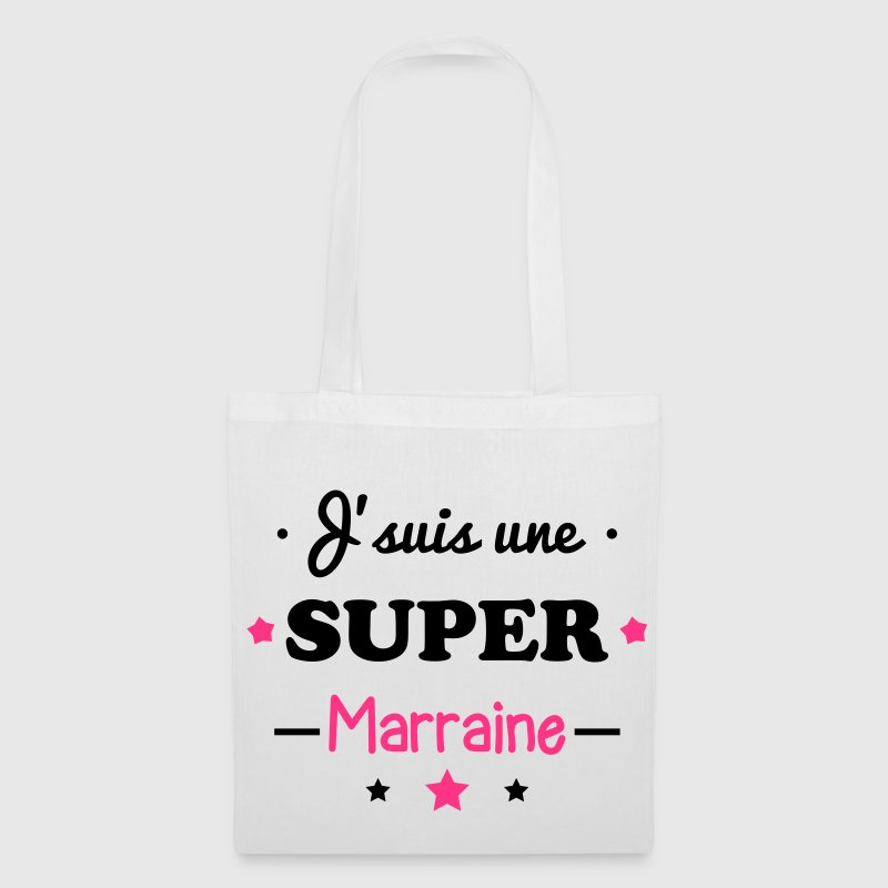 Super marraine, cadeau marraine  - Tote Bag