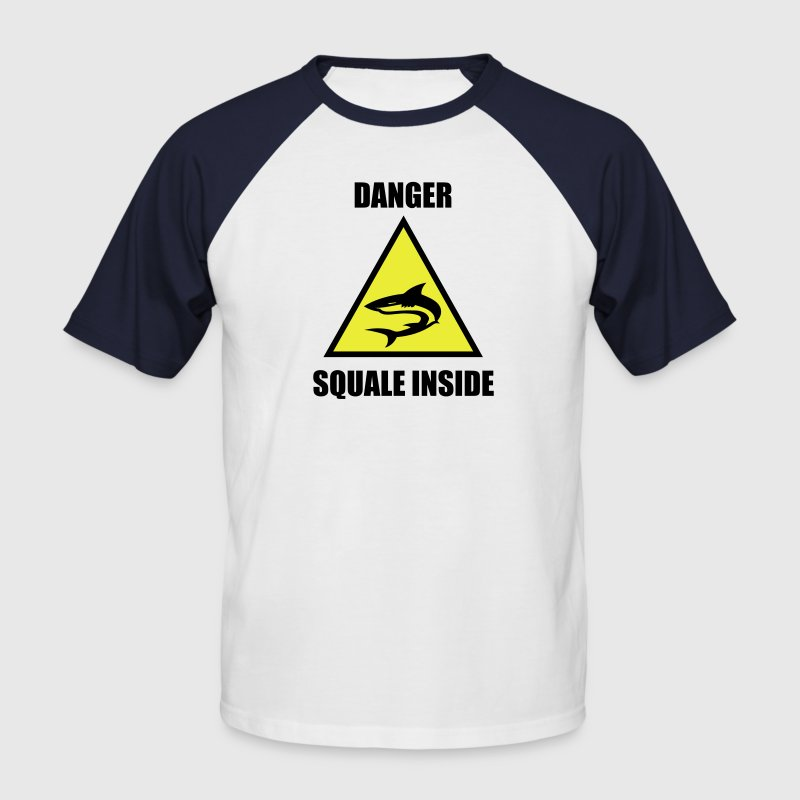 Squale Danger T-shirt - T-shirt baseball manches courtes Homme