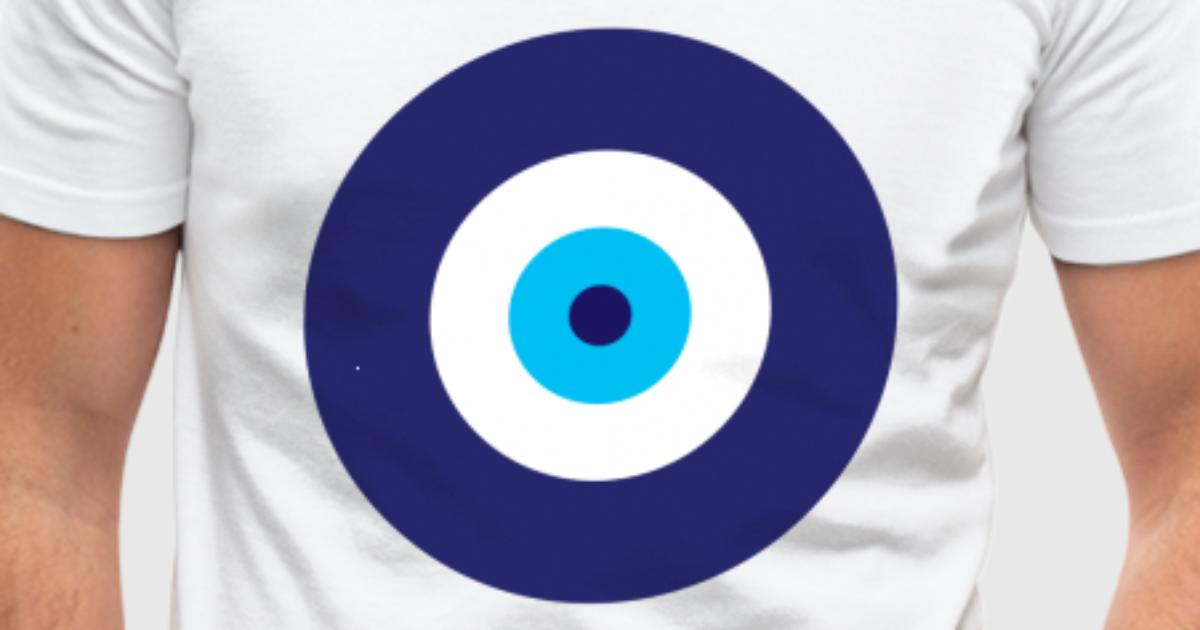Blaues auge t shirt spreadshirt for One color t shirt design inspiration