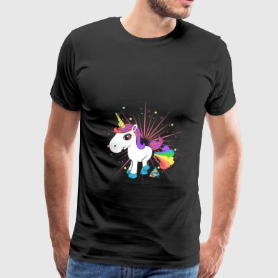 Pupsendes Einhorn Sports wear - Men's Premium T-Shirt
