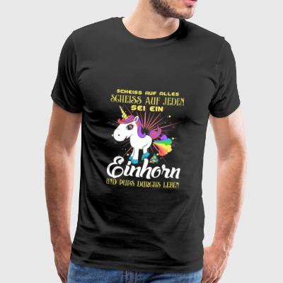 Unicorn - fart life Sports wear - Men's Premium T-Shirt