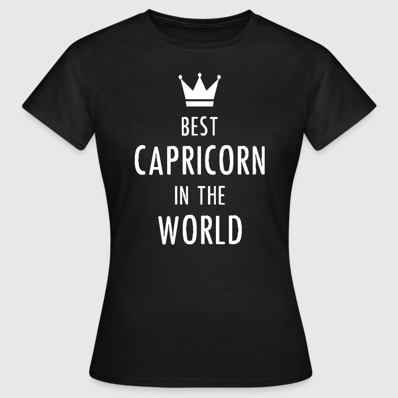 Best Capricorn in the Wor T-Shirts - Frauen T-Shirt