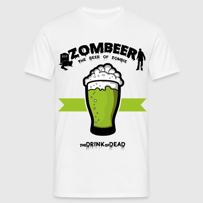 Zombeer 2 Tee shirts - T-shirt Homme