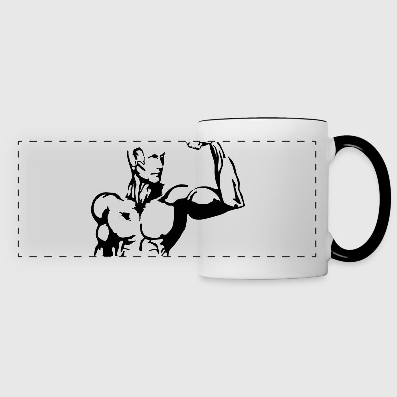 Muscle Madness, Fitness Bouteilles et Tasses - Tasse panorama