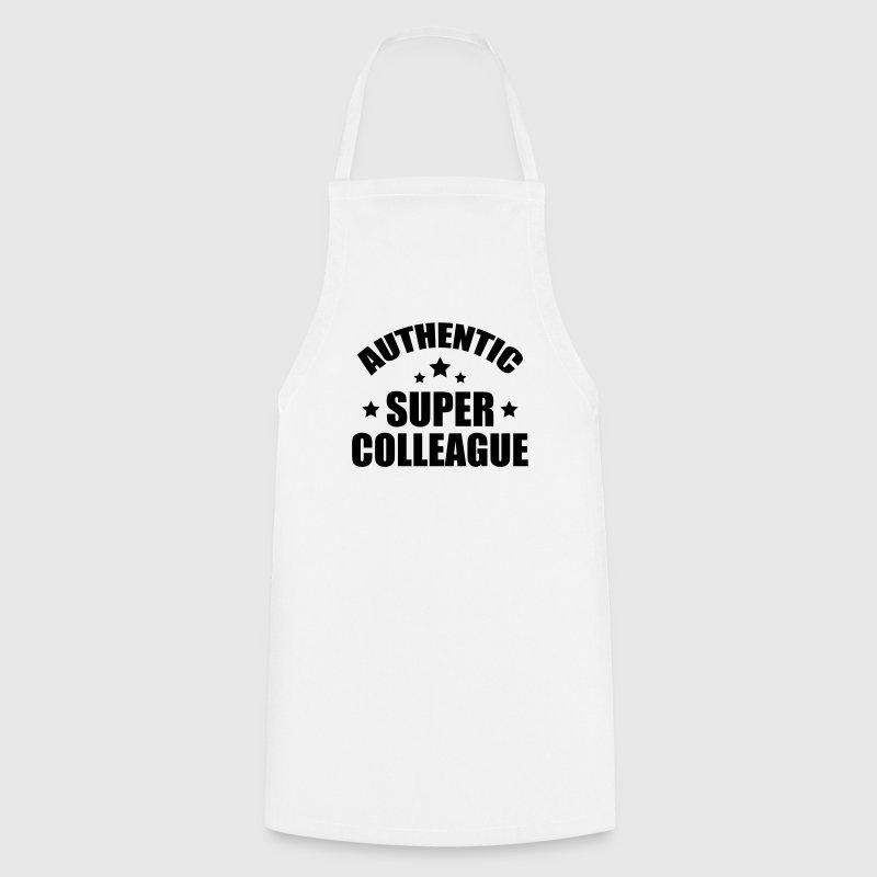 tablier coll gue entreprise travail bureau spreadshirt. Black Bedroom Furniture Sets. Home Design Ideas