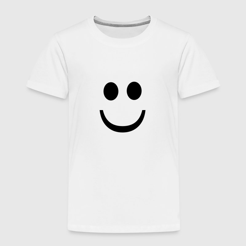 Very happy emoji T-shirts - Børne premium T-shirt