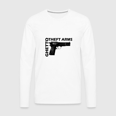 ghetto shorty - T-shirt manches longues Premium Homme