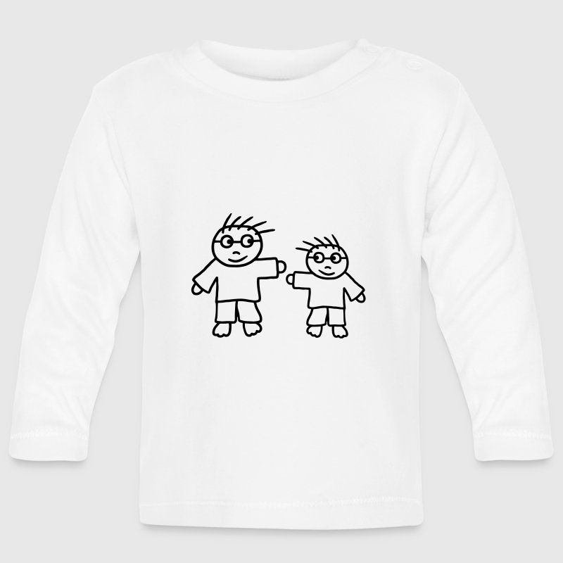 Big Brother - Little Brother - T-shirt manches longues Bébé