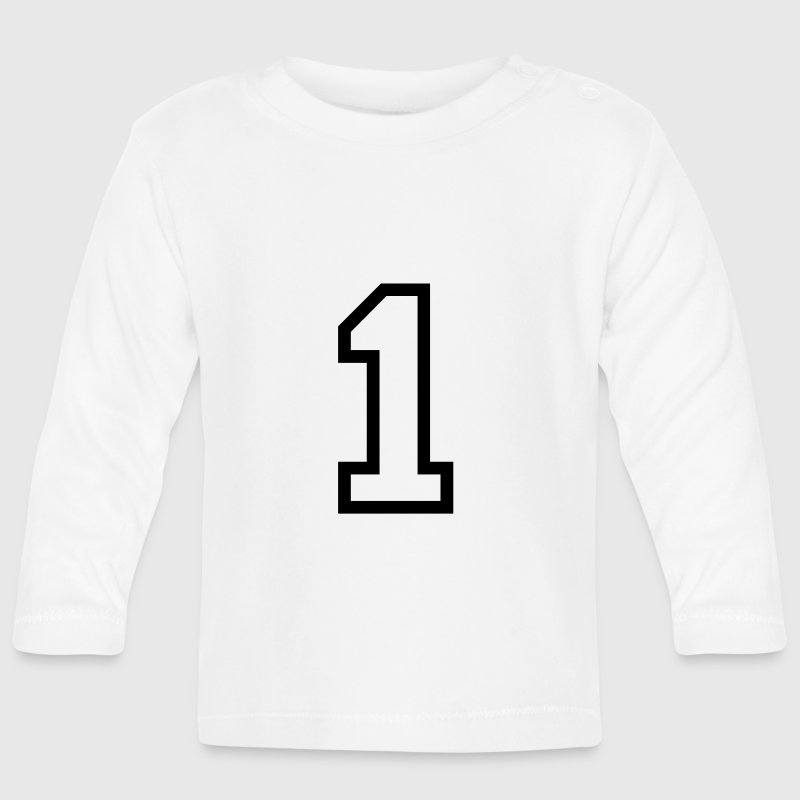 THE NUMBER 1-ONE Long Sleeve Shirts - Baby Long Sleeve T-Shirt