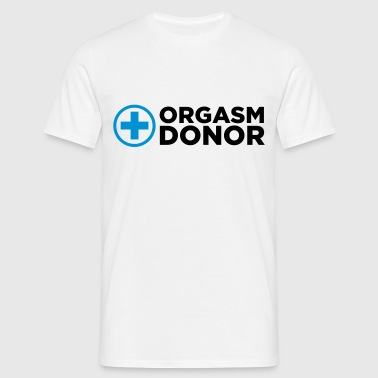Orgasm Donor Langermede T-skjorter for babyer - T-skjorte for menn