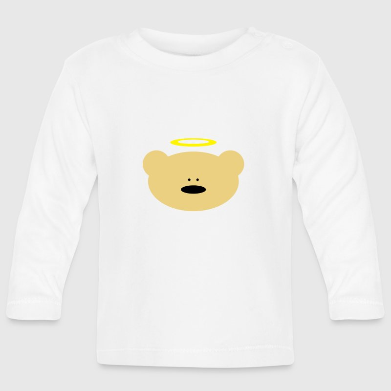 Teddy bear Angel Baby Long Sleeve Shirts - Baby Long Sleeve T-Shirt