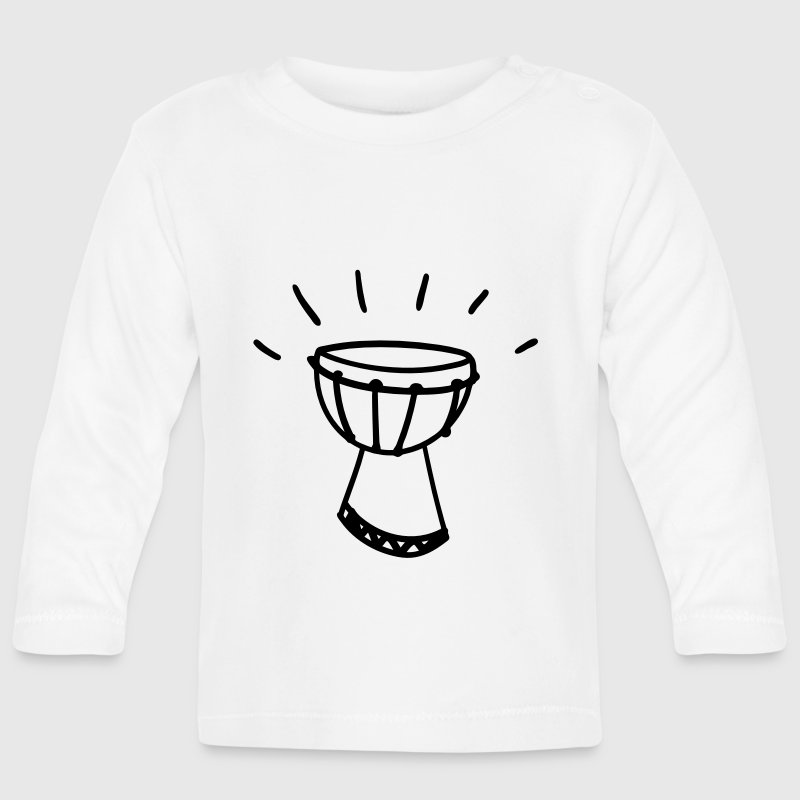 Djembe - African drum Baby Long Sleeve Shirts - Baby Long Sleeve T-Shirt