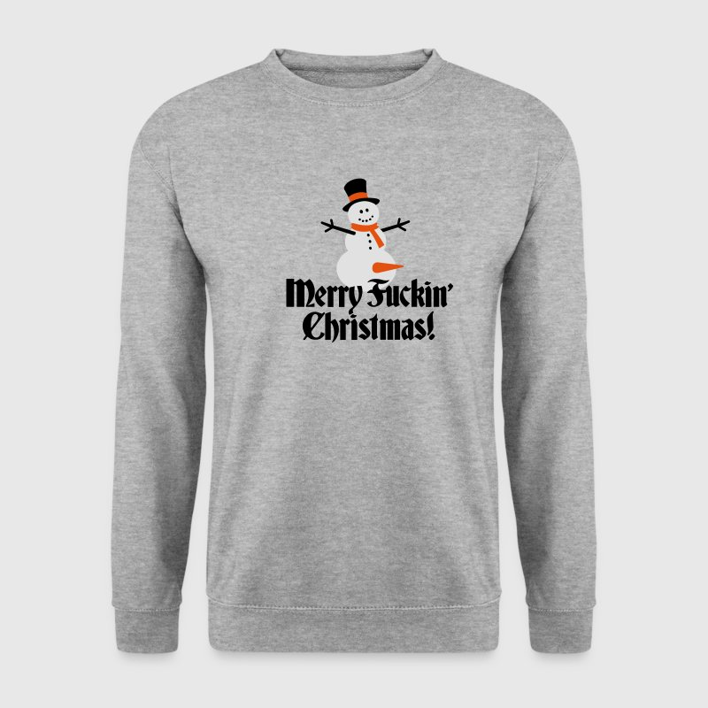 Merry fuckin'/ fucking Christmas Hoodies & Sweatshirts - Men's Sweatshirt