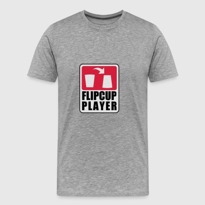 Flipcup Player Sports wear - Men's Premium T-Shirt