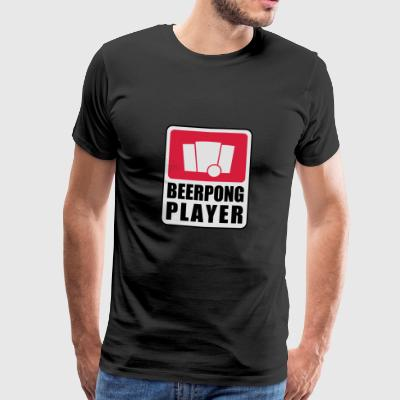 Beerpong Player Sports wear - Men's Premium T-Shirt