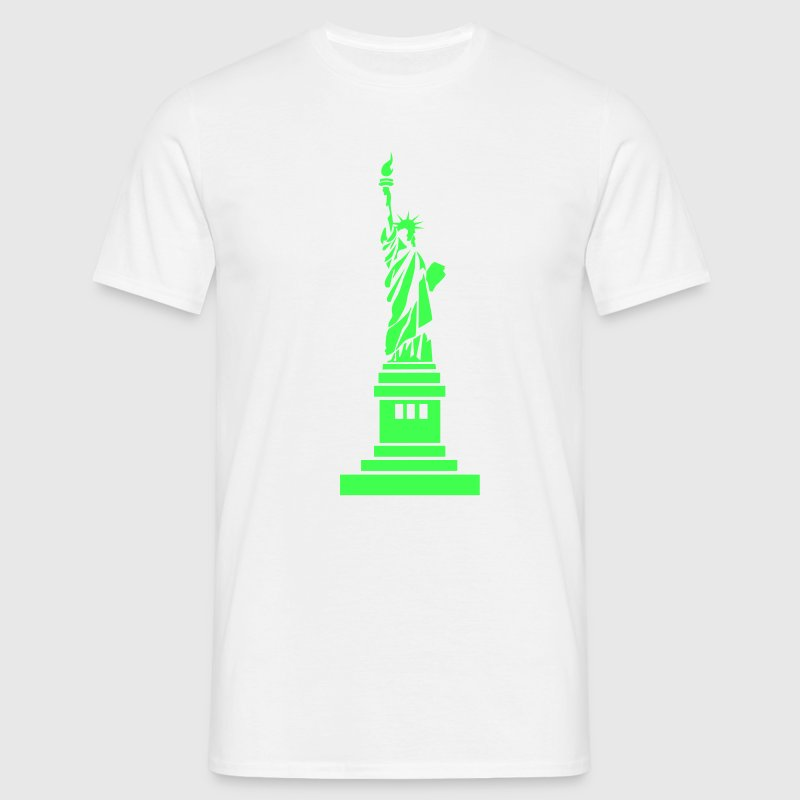 Statue of Liberty, USA, America, United States, New York, Hollywood, Geschenke, gifts, eushirt.com - Männer T-Shirt