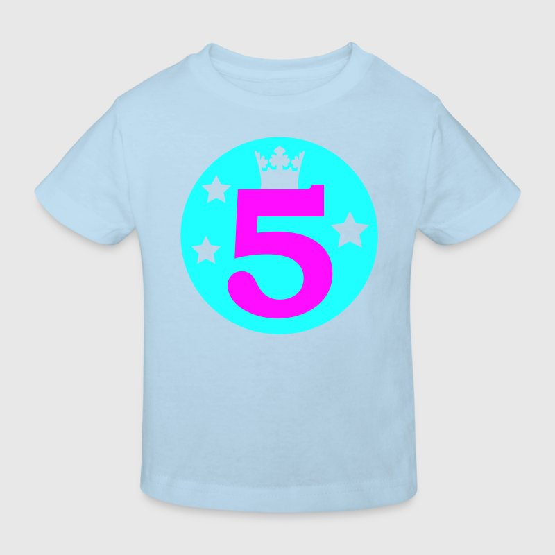 I am 5 years old - Birthday - Kids' Organic T-shirt