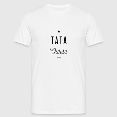 TATA OURSE Badges - T-shirt Homme