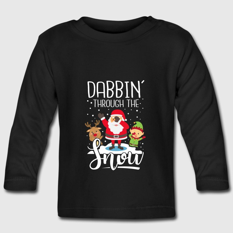 DAB Santa Claus Rudolph Reindeer Elf gift Long Sleeve Shirts - Baby Long Sleeve T-Shirt