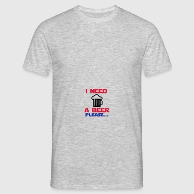 i need a beer 3 Casquettes et bonnets - T-shirt Homme