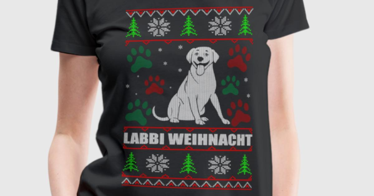 Labbi weihnacht t shirt spreadshirt for Two color shirt design